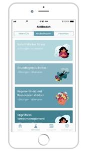STEIG' Stressmanagement App - 5 Bereiche für die mentale Gesundheit Ihrer Mitarbeiter